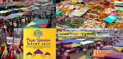 Bazar Ramadhan Johor Bahru JB