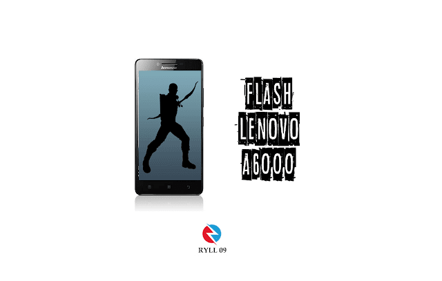 Cara Flash Hp Lenovo A6000 plus Mudah Tanpa PC