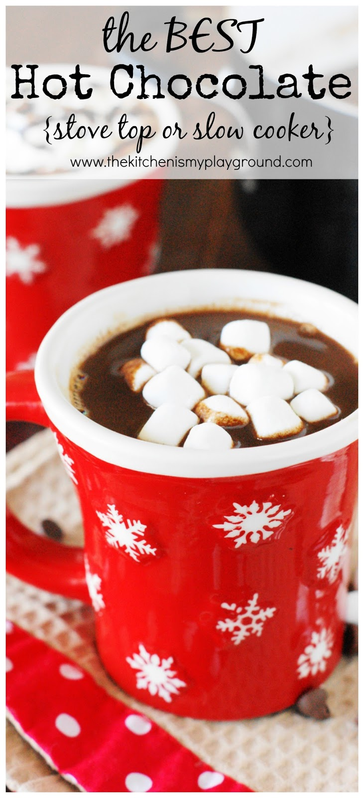 The BEST Hot Chocolate - The Kitchen is ...