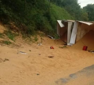 Mauá da Serra-Duas pessoas ficam feridas em acidente na Serra do Cadeado