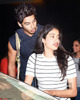 Jhanvi Kapoor and Ishaan Khattar   The Dhadak Movie Pair Spotted Dining Together ~  Exclusive Galleries 008.jpg