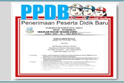Contoh SK Panitia PPDB 2018/2019 SD SMP SMA SMK Format Word