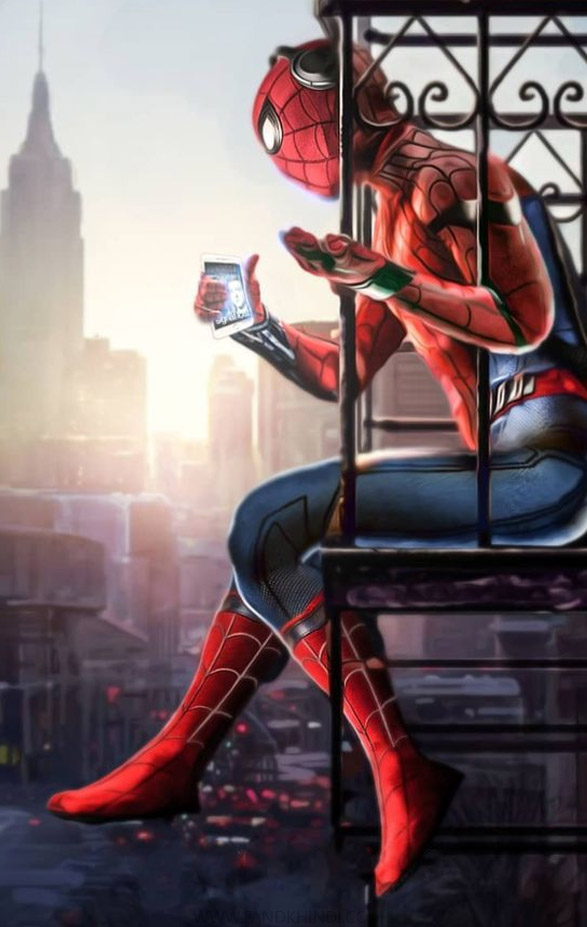 spider man far from home images