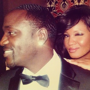 omotola and akon couple