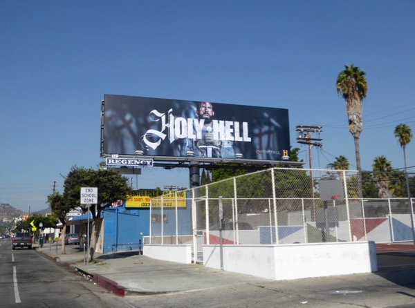 Knightfall Holy Hell billboard