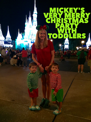 Tips for Mickey's Very Merry Christmas with Toddlers at Walt Disney World