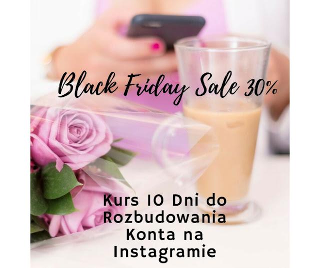 Black Friday Sale Kurs Instagramowy