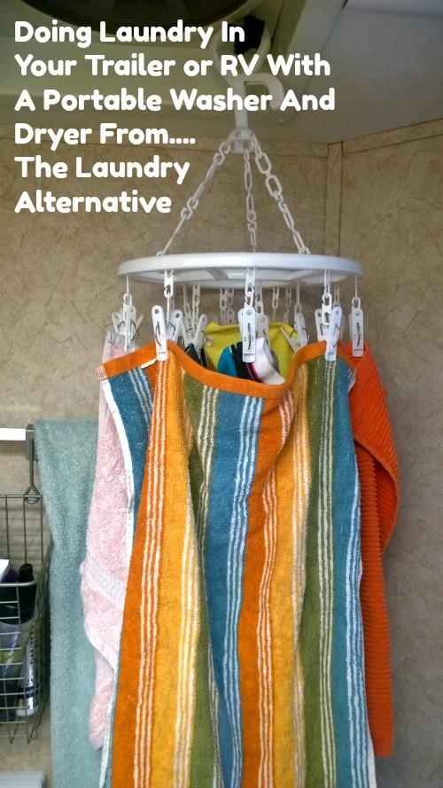 hanging laundry dryer, RV laundry
