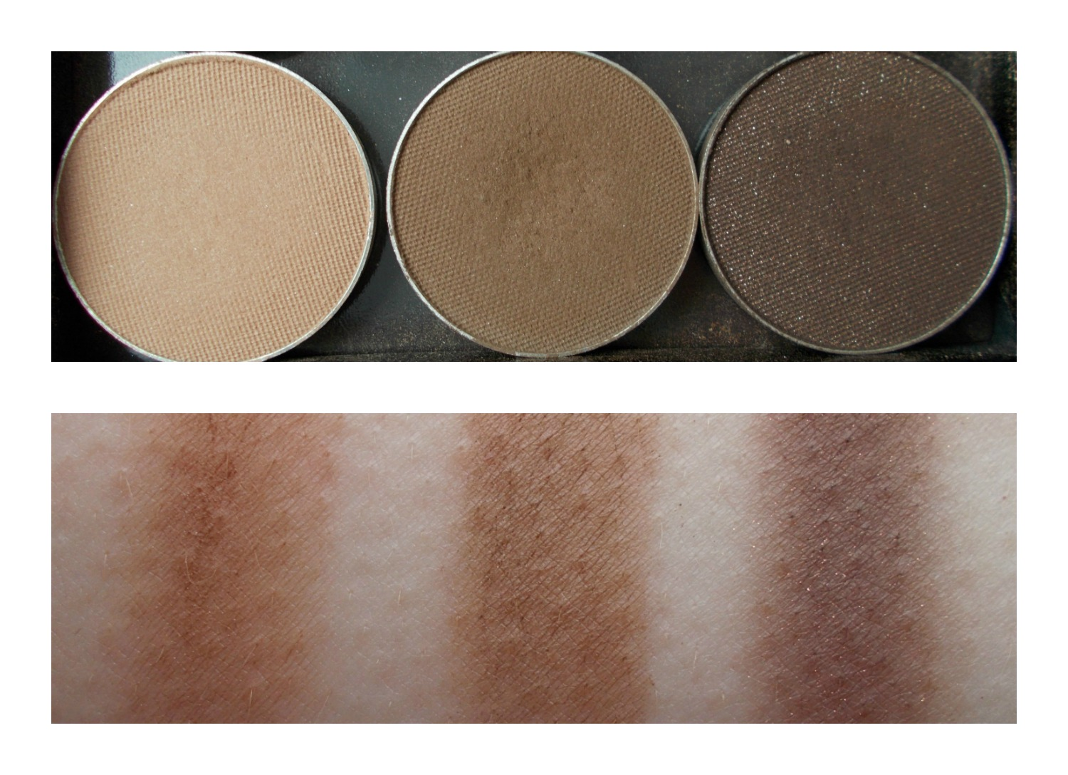 Makeup Geek latte mocha bada bing swatches
