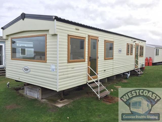 static caravan double glazing in Cornwall