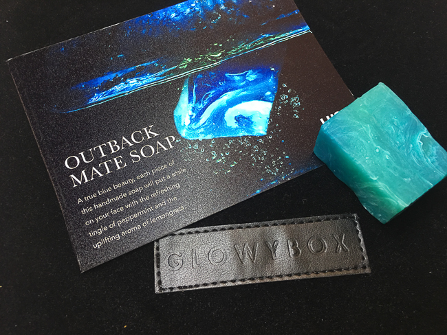 GlowyBox July Box Review LUSH Outback Mate Soap