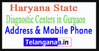 Diagnostic Centers In Gurgaon In Haryana