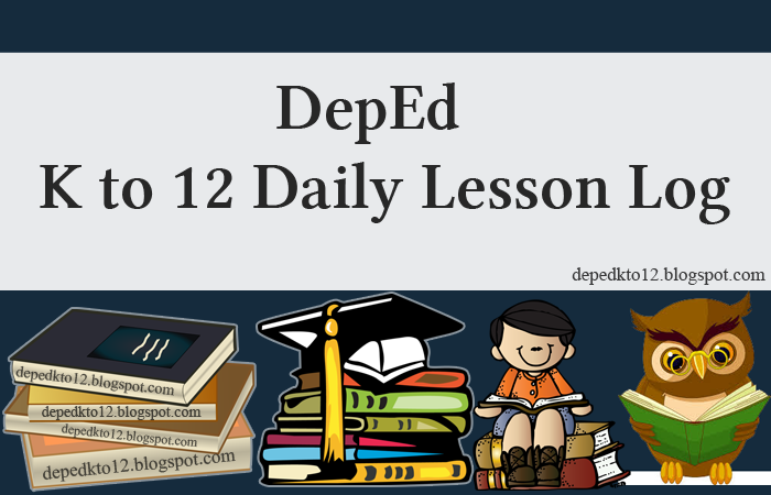 updated 2018 2019 deped k 12 daily lesson log depedkto12 grade