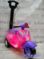 Ride-On Car SHP Minivaster616 Scoopy dengan Music dan Tongkat Dorong 3