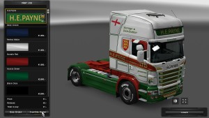 Topline H.E.Payne Skin for Scania RJL