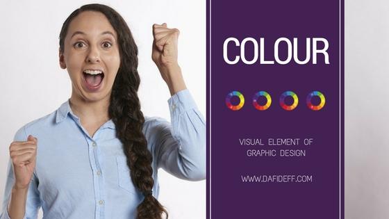 Visual element of Graphic Design: Colour