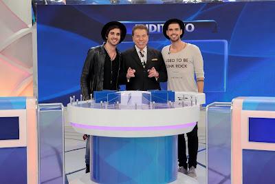 Fiuk, Silvio e Ivo (Crédito: Lourival Ribeiro/SBT)