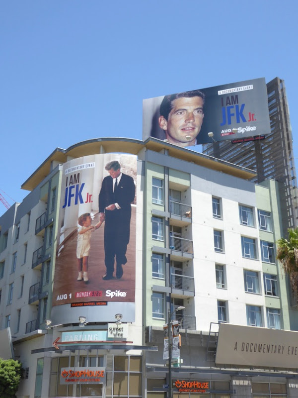 I am JFK Jr Spike billboards