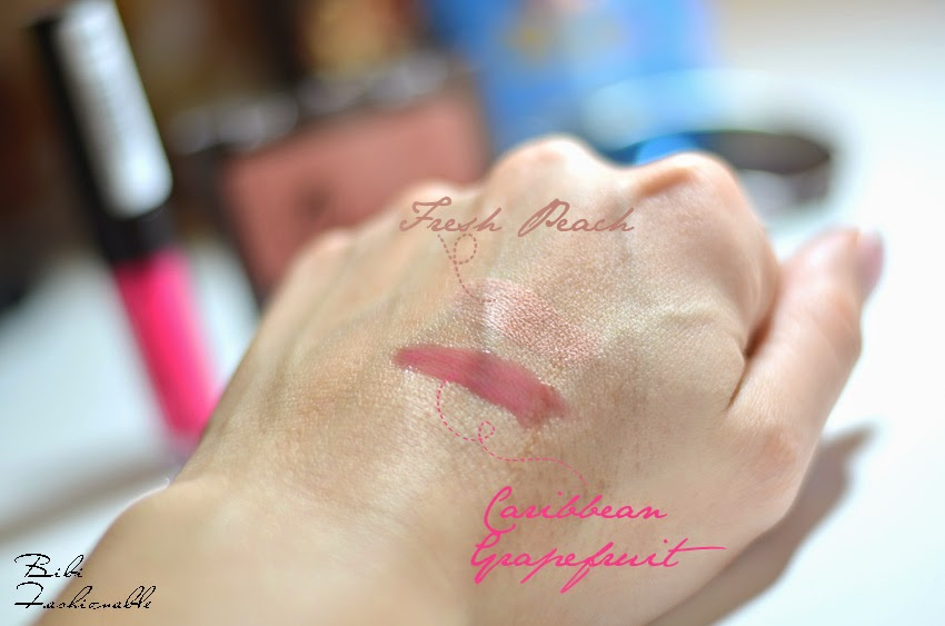 Manhattan Rouge und Lipgloss Swatches