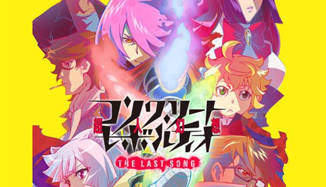 Download Anime Concrete Revolutio: Choujin Gensou – The Last Song Subtitle Indonesia