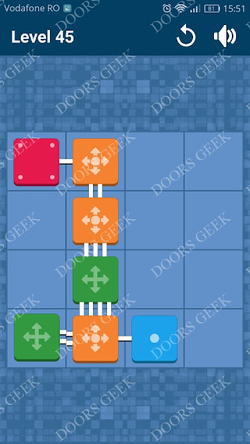 Connect Me - Logic Puzzle Level 45 Solution, Cheats, Walkthrough for android, iphone, ipad and ipod