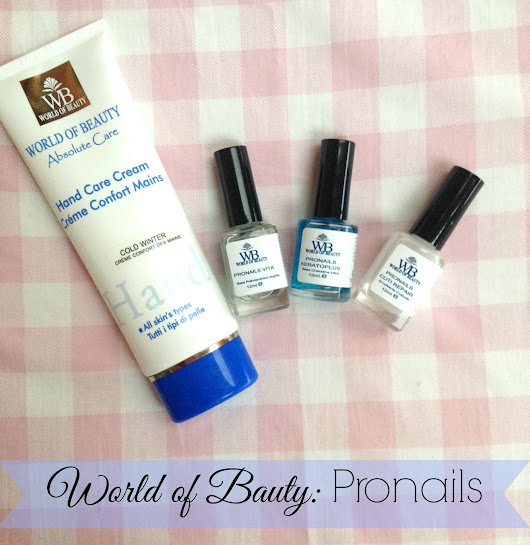 [Review World of Beauty]: Pronails - Unghie riparate e mani sane.