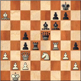 Partida ajedrez Daniele Vocaturo - Benjamin Gledura, Torneo Magistral Internacional Ciudad de Barcelona 2017, posición después de 39…Af6