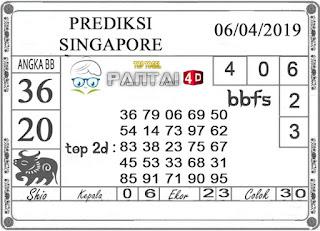 """Prediksi Togel """"SINGAPORE"""" PANTAI4D 06 APRIL 2019"""