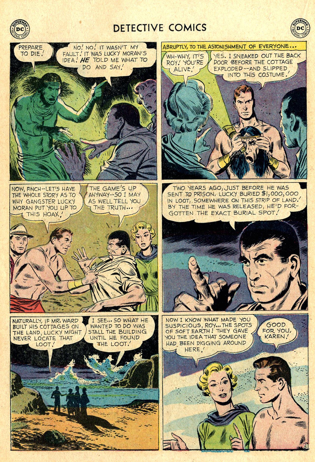 Read online Detective Comics (1937) comic -  Issue #260 - 22