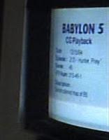 Babylon 5 CG playback