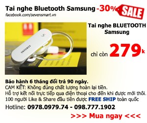 SIÊU KHUYẾN MẠI 30% TAI NGHE SAMSUNG S6/S6 EDGE