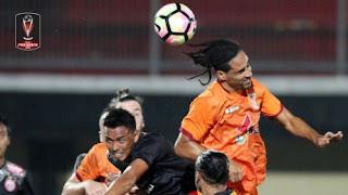 Persija Menang 2-0 atas Borneo FC - Piala Presiden 2018