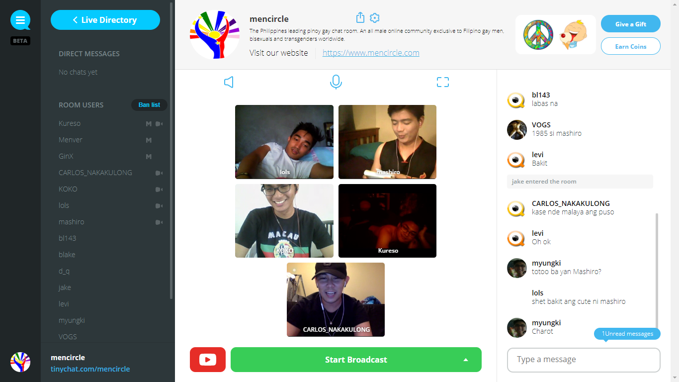 Pinoy Gay Chat | Live Video Chat