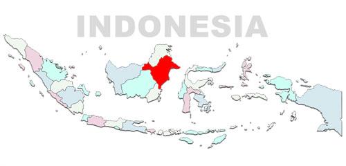 image: East Kalimantan Map Location