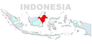 image: East Kalimantan Map Location