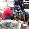 Ketua Adat, Ketua RW-RT se Kel Bira Hadiri Peletakan Batu Pertama Pembangunan Masjid Borongjatia, Bira