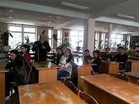 gr. JR14Z în Sala de lectură 2