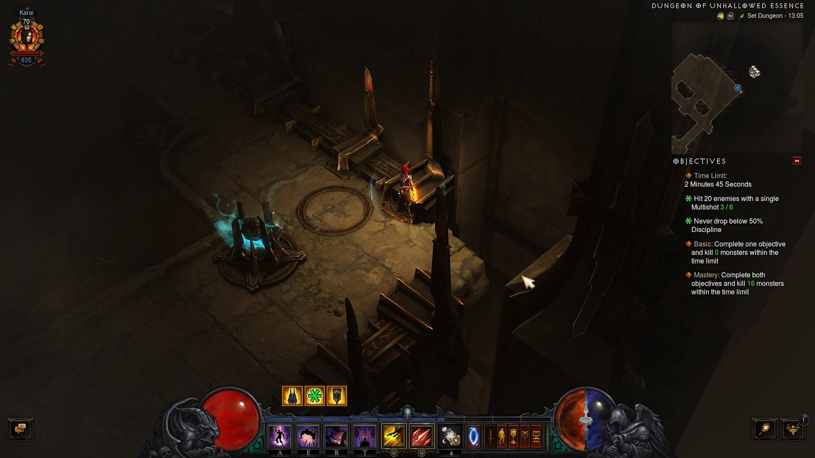 Unhallowed Essence set dungeon bugged? - Diablo III Forums