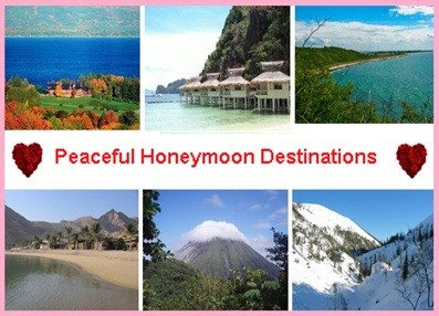Not-so-Popular Peaceful Honeymoon Destinations that away you from the Crowds
