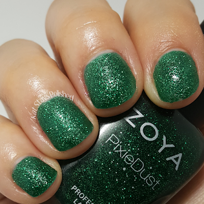 Zoya Enchanted Holiday 2016 - Elphie | Kat Stays Polished