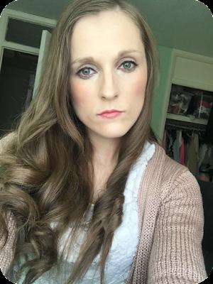 makeup revolution lip power everything's alright lipstick on