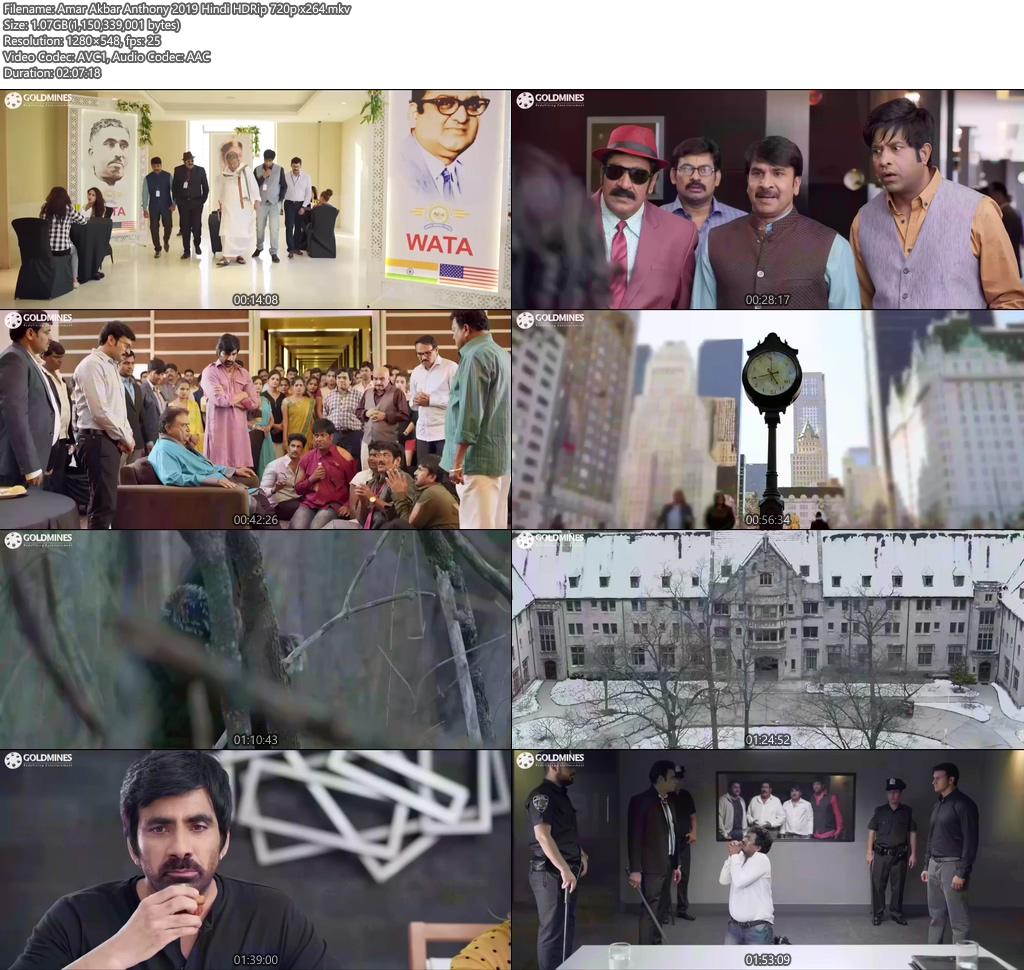 Amar Akbar Anthony 2019 Hindi HDRip 720p x264 | 480p 300MB HEVC Screenshot