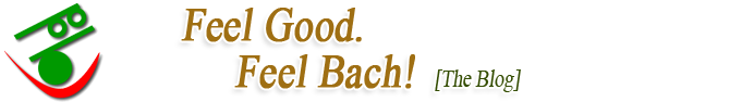 Feel Bach! flower remedies blog