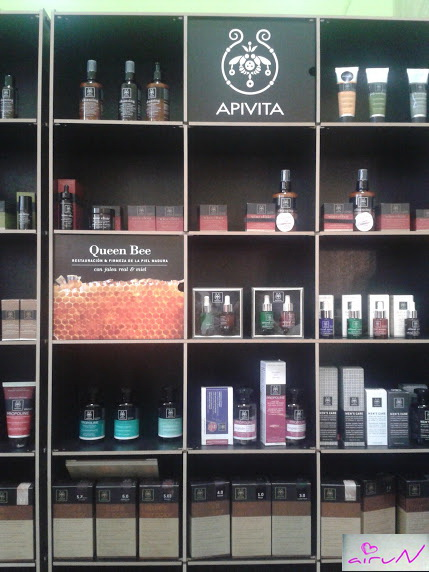 stand apivita productos beauty