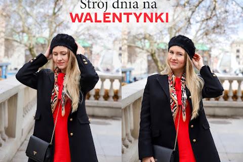 Stylizacja na Walentynki z czerwoną sukienką i kozakami za kolano ♥ - czytaj dalej »