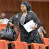 Stella Oduah spotted after a long absence following her son's death