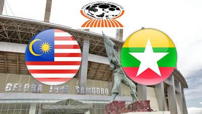 Live Streaming Malaysia vs Myanmar Kejohanan AFF B-19 10.7.2018
