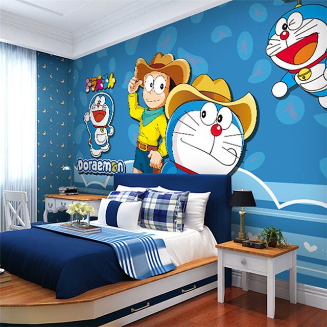 thiết kế phòng ngủ doremon 13