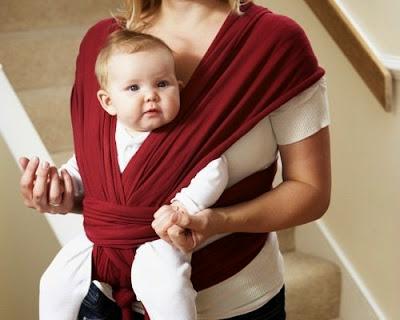 como no portear a un bebé con un fular