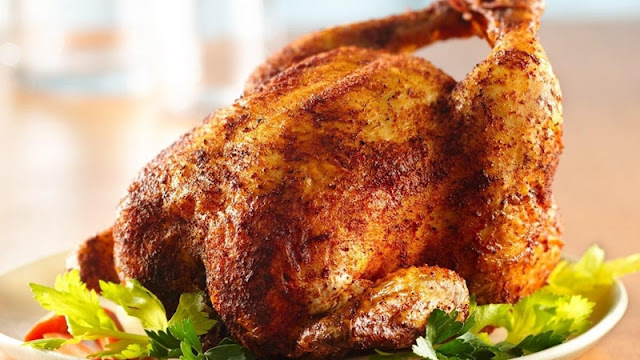 دجاجة معمرة بالروز